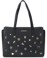 Love Moschino - Embellished Tote Bag - Lyst
