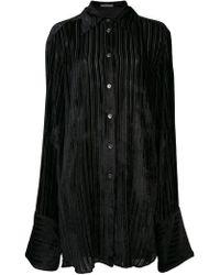 Ann Demeulemeester - Oversized Sleeved Shirt - Lyst