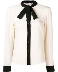 RED Valentino - Pussybow Blouse - Lyst