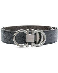 Ferragamo - Double Gancio Buckle Belt - Lyst