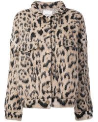 Laneus - Leopard Short Jacket - Lyst