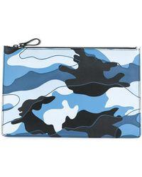 Valentino - Garavani Camouflage Clutch Bag - Lyst