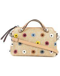 Fendi - By The Way Small Embellished Boston Bag - Lyst df810bfbf2098