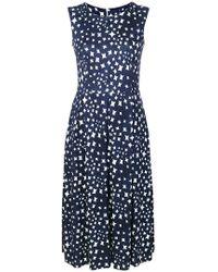 Harris Wharf London - Printed Dress - Lyst