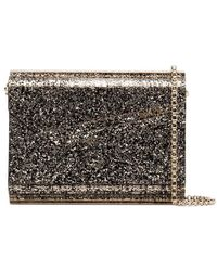 Jimmy Choo - Metallic Candy Glitter Envelope Clutch - Lyst
