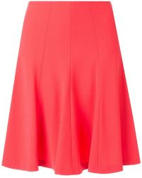Paule Ka - Flared Mini Skirt - Lyst