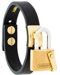 Ambush - Padlock Bracelet Cuff - Lyst