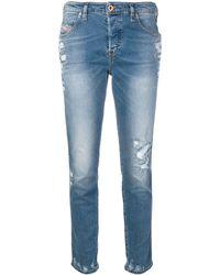 DIESEL - 'Babhila 085AH' Skinny-Jeans - Lyst