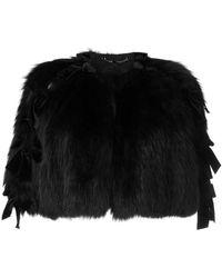 dca837400497 Lyst - Women s Fendi Capes Online Sale