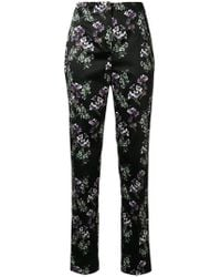 Blumarine | Floral Print Trousers | Lyst