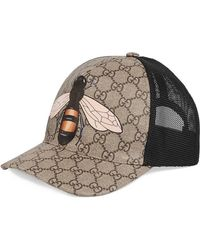 4af5ee93c72 Lyst - Gucci Felt Hat With Snake And Bee for Men