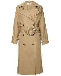 Ports 1961 - O-ring Belted Trench Coat - Lyst
