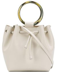 Theory - Wax Cord Hoop Shoulder Bag - Lyst