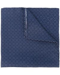 Lardini | Flower Print Pocket Square | Lyst