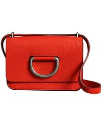 Burberry - The Mini Leather D-ring Bag - Lyst