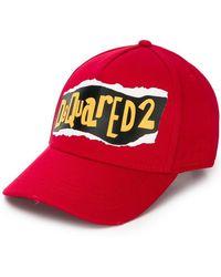 DSquared² - Gorra de béisbol con logo - Lyst