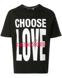 Love Moschino - T-shirt Choose Love - Lyst