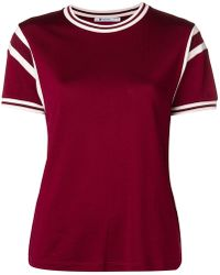 T By Alexander Wang - Panelled T-shirt - Lyst