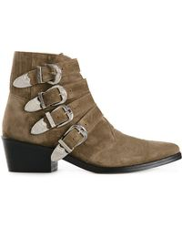 Toga Pulla - Buckled Ankle Boots - Lyst