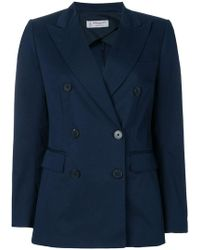 Alberto Biani - Double Breasted Blazer - Lyst