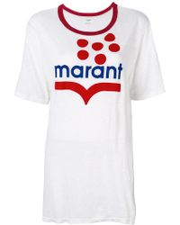 Étoile Isabel Marant - Camiseta Koldia - Lyst
