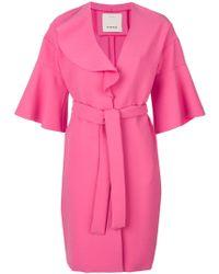 Pinko - Belted Oversized Jacket - Lyst