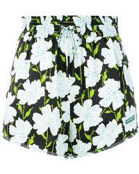 Off-White c/o Virgil Abloh - Floral Shorts - Lyst