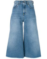 Pinko | Sailor Cropped Jeans | Lyst