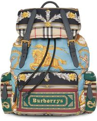 Burberry - The Large Rucksack In Archive Scarf Print - Lyst