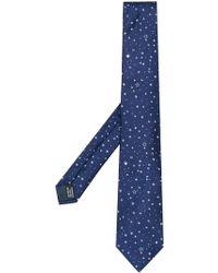 Lanvin - Star Embroidered Tie - Lyst