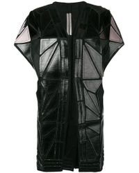 Rick Owens - Whisper Geometric Panelled Jacket - Lyst