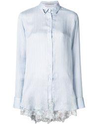 Ermanno Scervino - Lace Hem Shirt - Lyst