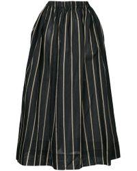 Uma Wang - Striped Full Skirt - Lyst