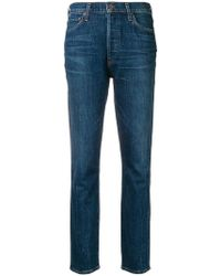 Citizens of Humanity - Jeans mit hohem Bund - Lyst