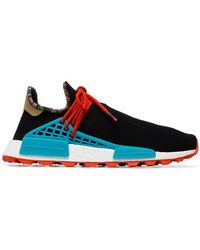 adidas - X Pharrell Williams Black Human Body Nmd Sneakers - Lyst