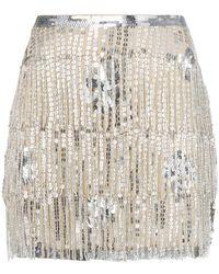 Mes Demoiselles - Sequined Fringed Skirt - Lyst