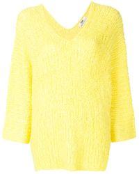 SMINFINITY - V-neck Sweater - Lyst