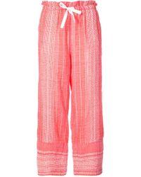 lemlem - Relaxed Fit Pants - Lyst