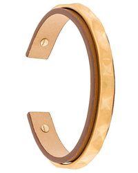 Northskull - Contrast Cuff Bracelet - Lyst