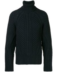 Alexander McQueen - Cable Knit Sweater - Lyst