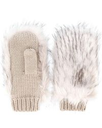 Urbancode - Furry Gloves - Lyst
