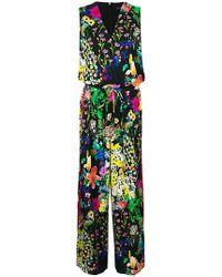 Etro - Floral Printed Jumpsuit - Lyst