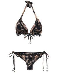 Amir Slama - Bikini With Lace Detail - Lyst