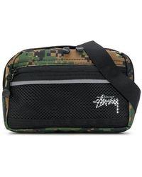 Stussy - Digi Camouflage Belt Bag - Lyst