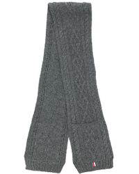 Thom Browne - Chunky Knit Scarf - Lyst