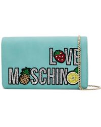 Love Moschino - Sequined Clutch Bag - Lyst