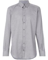 Dolce & Gabbana - Geometric Print Shirt - Lyst