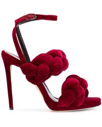 Marco De Vincenzo - Pleated Strappy Sandals - Lyst