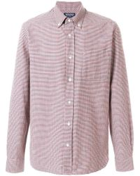 Woolrich - Checked Shirt - Lyst