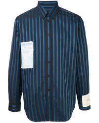 Martine Rose - Flyer Patch Shirt - Lyst